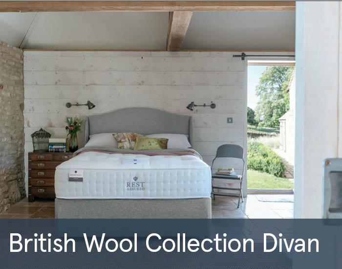British Wool Collection Divans