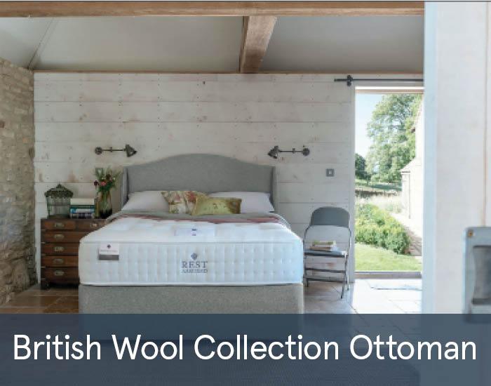 British Wool Collection Ottomans