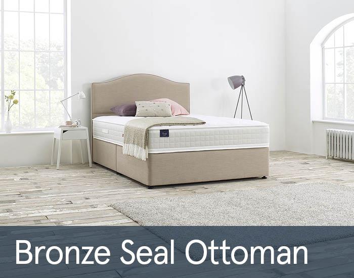 Bronze Seal Ottomans