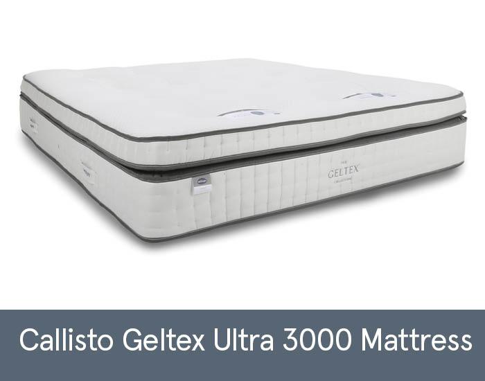 Callisto Geltex Ultra 3000 Mattresses