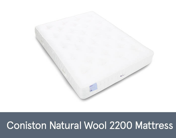 Coniston Natural Wool 2200 Mattresses