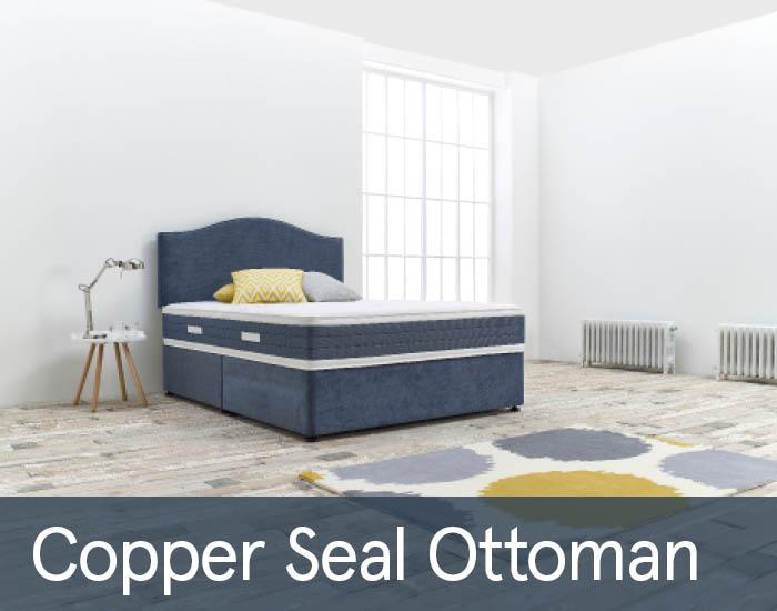 Copper Seal Ottomans