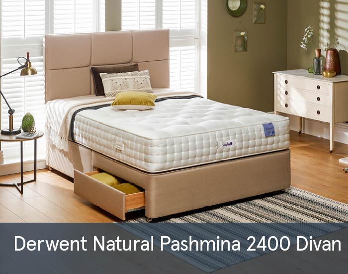 Derwent Natural Pashmina 2400 Divans