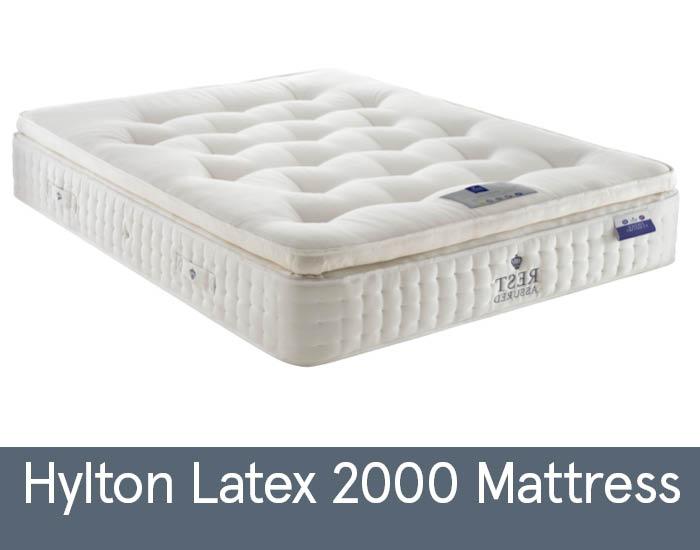 Hylton Latex 2000 Mattresses