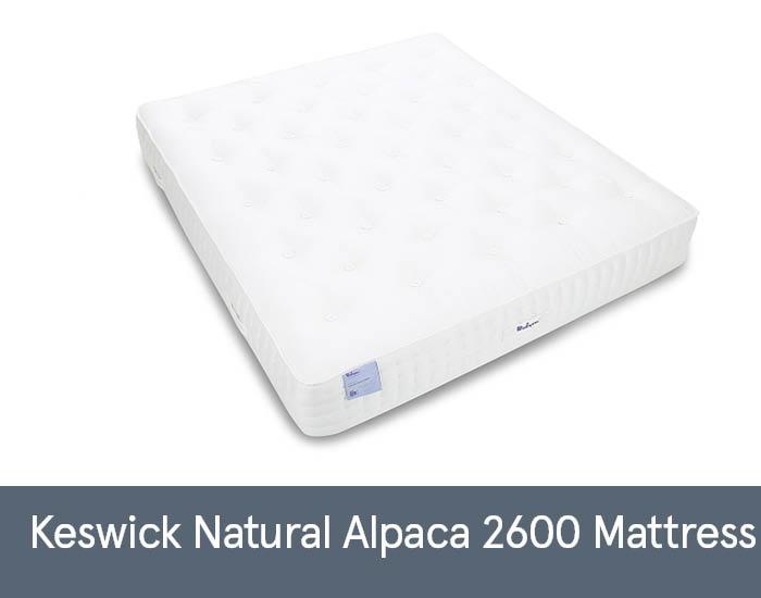 Keswick Natural Alpaca 2600 Mattresses