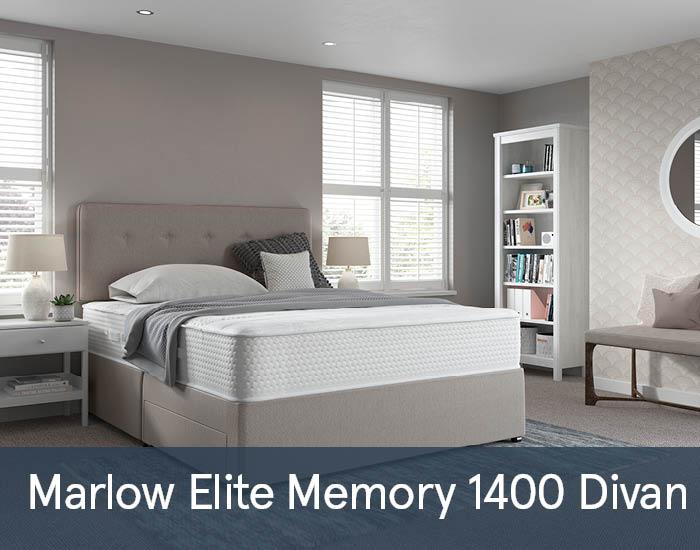 Marlow Elite Memory 1400 Divans