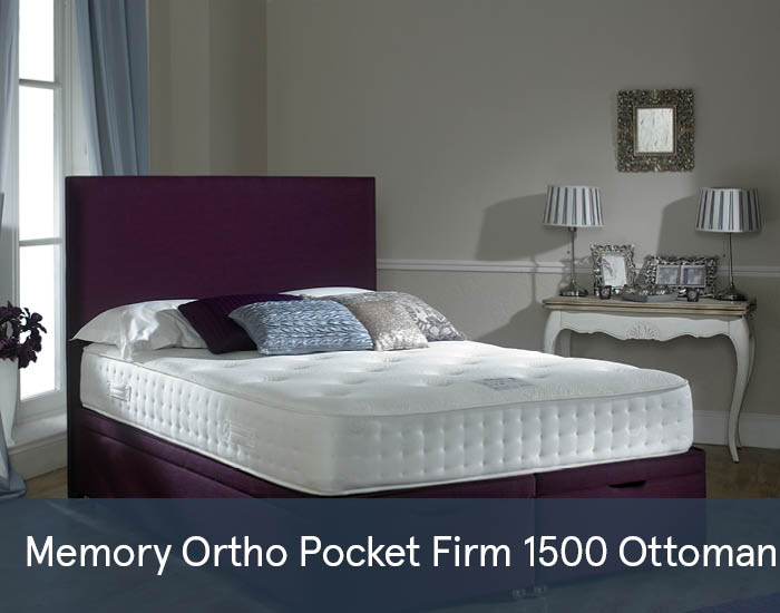 Memory Ortho Pocket Firm 1500 Ottomans