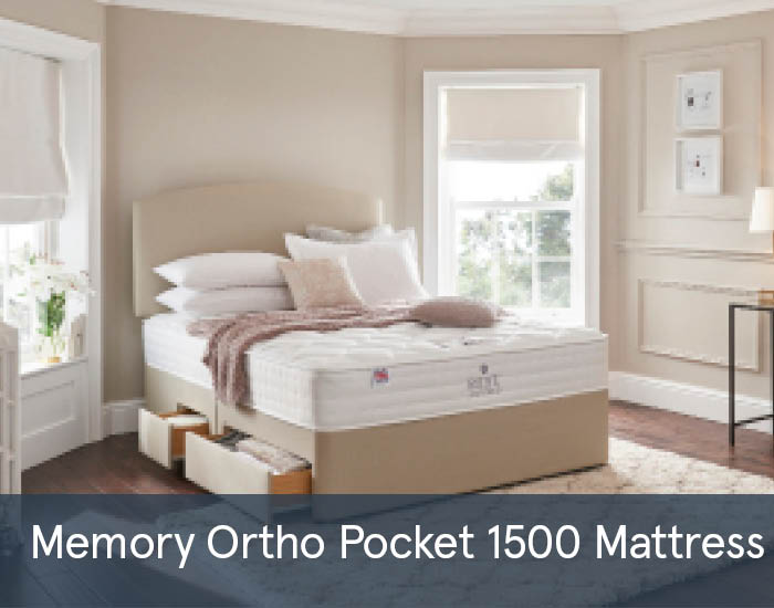 Memory Ortho Pocket Firm 1500 Mattresses