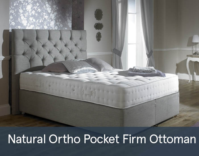 Natural Ortho Pocket Firm 1000 Ottomans