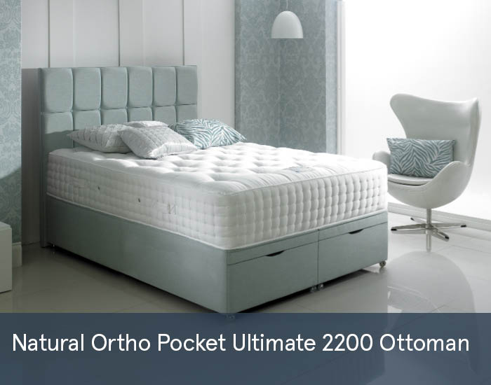 Natural Ortho Pocket Ultimate 2200 Ottomans