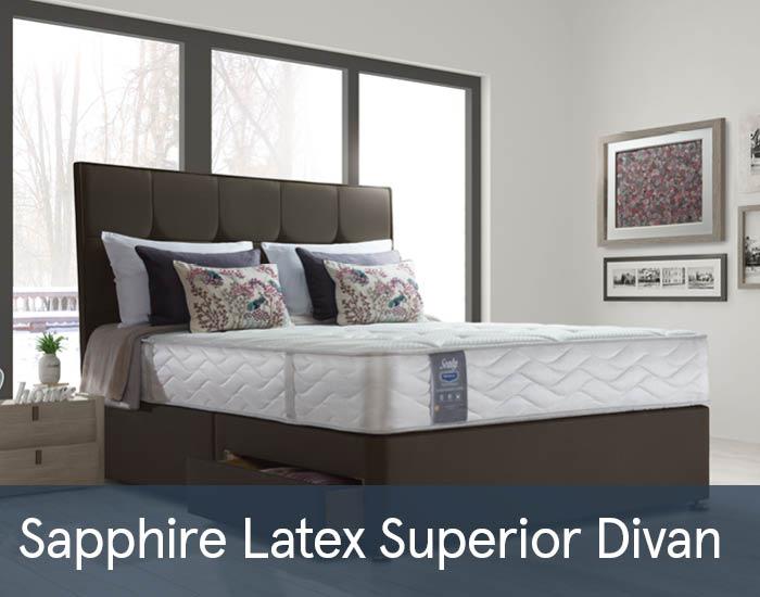 Sapphire Latex Superior Divans