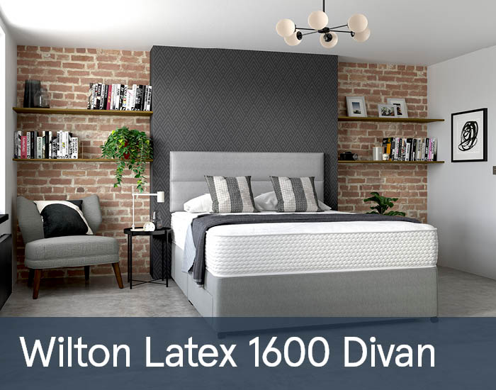 Wilton Latex 1600 Divans