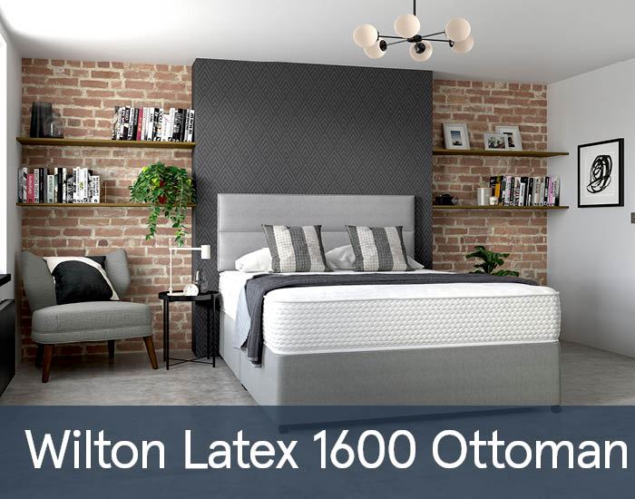 Wilton Latex 1600 Ottomans