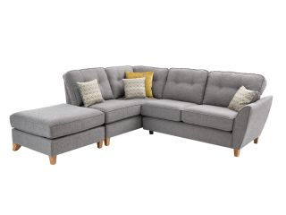 Calum Small cornergroup (rhf arm/lhf chaise) (including stool)