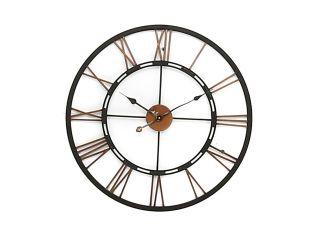 Accessories Metal skeletal wall clock (large)