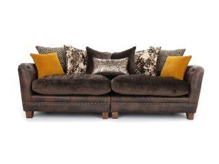 Boutique 4 seater sofa (split)