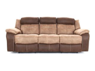 Bonita 3 seater (double power recliners) - type Fabric