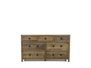 Weston Bedroom 7 drawer wide chest