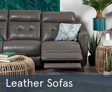 Spring Sale Leather Sofas