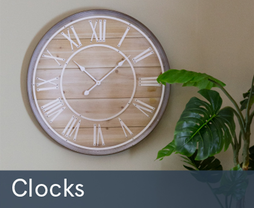 Winter Sale Clocks