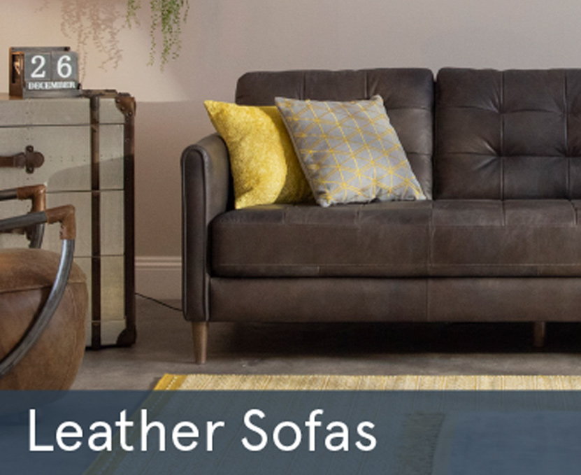 Winter Sale Leather Sofas