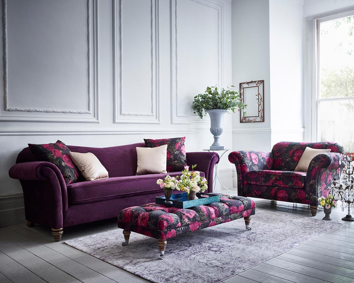 Colour inspiration - Purple Blog 1 February 2018