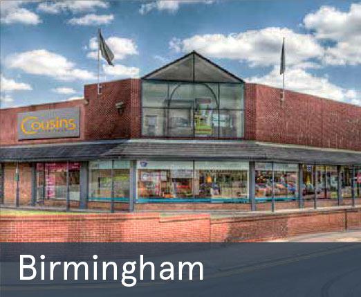 Cousins Birmingham Store Clearance