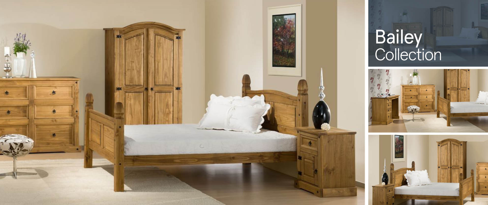 Bailey Bedroom Furniture Ranges