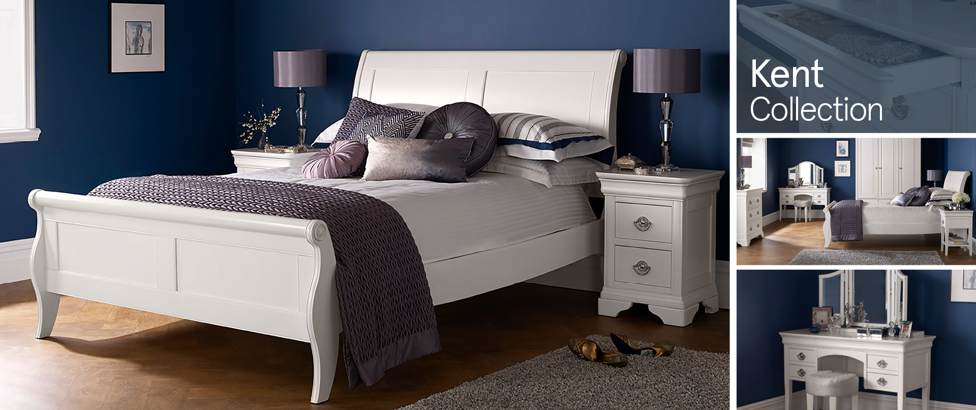 Kent Bedroom Furniture Ranges