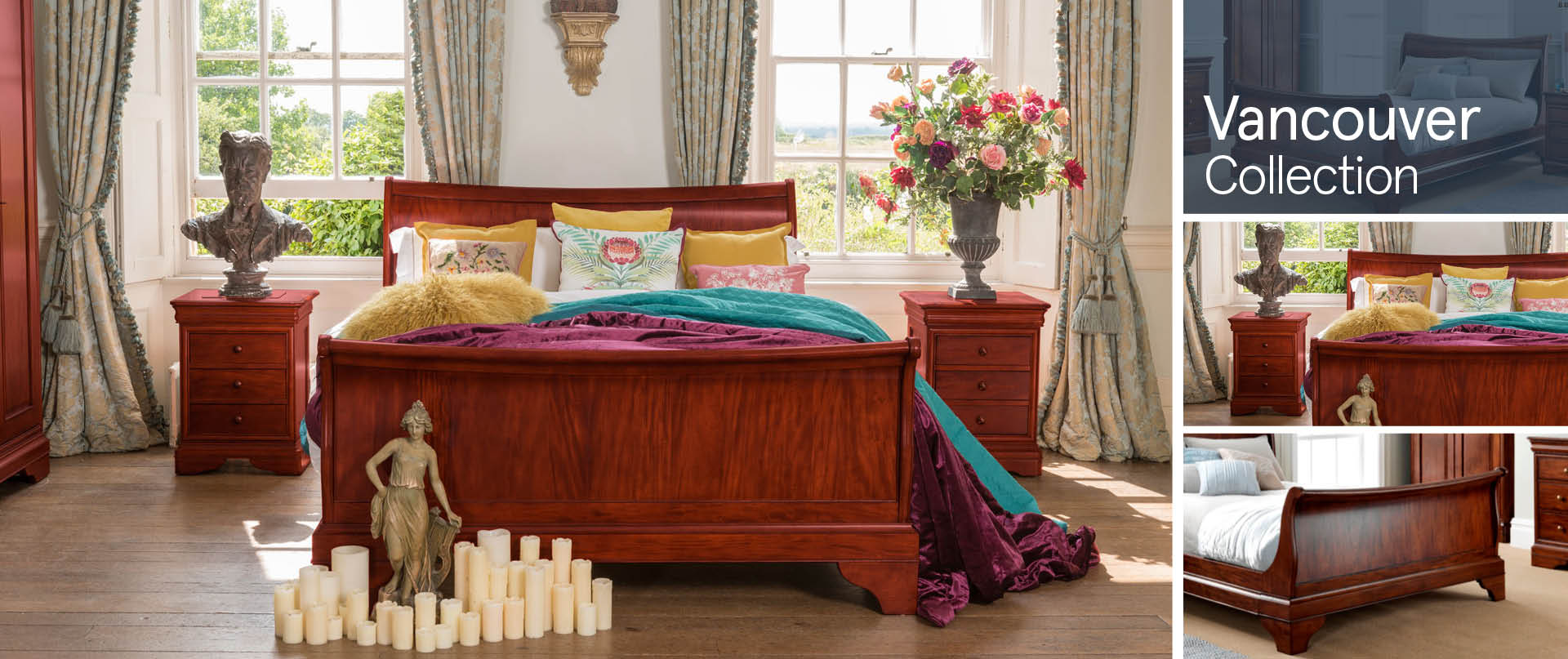 Vancouver Bedroom Furniture Ranges