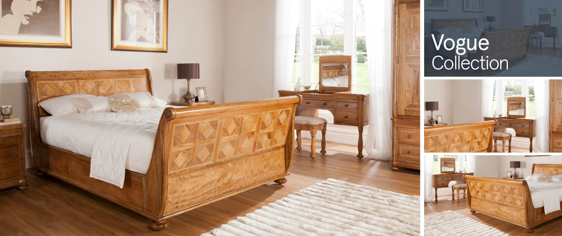 Vogue Bedroom Furniture Ranges