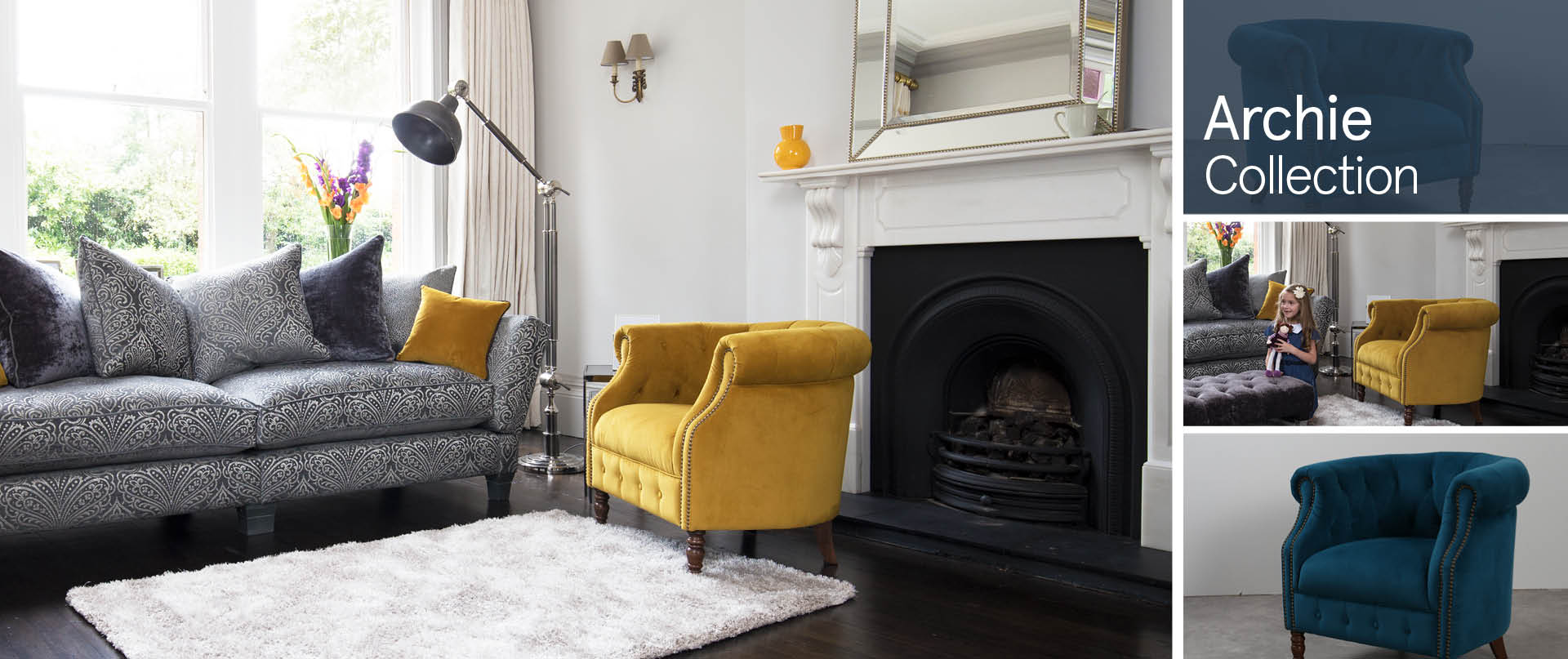 Archie Chairs and Footstools Ranges