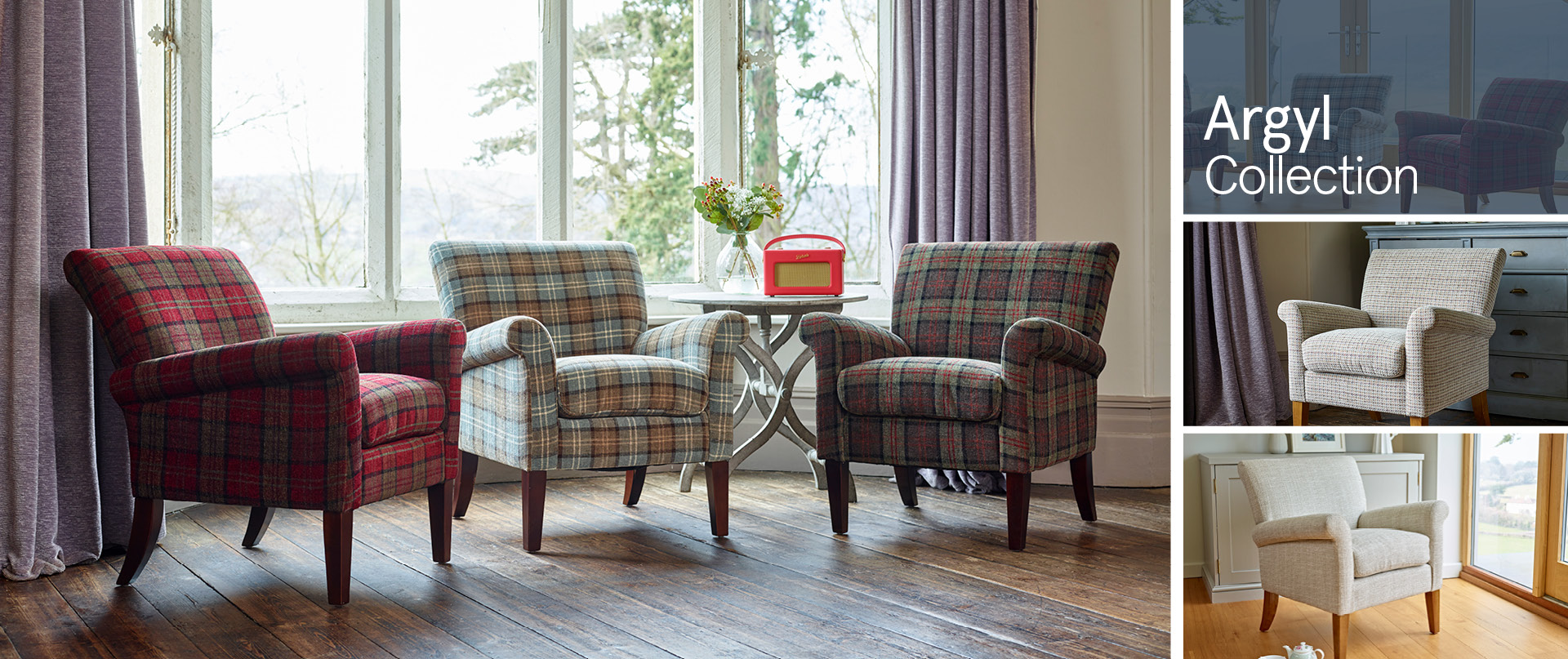 Argyl All Chairs and Footstools Ranges