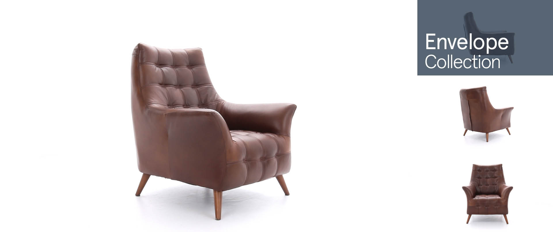 Envelope Chairs and Footstools Ranges