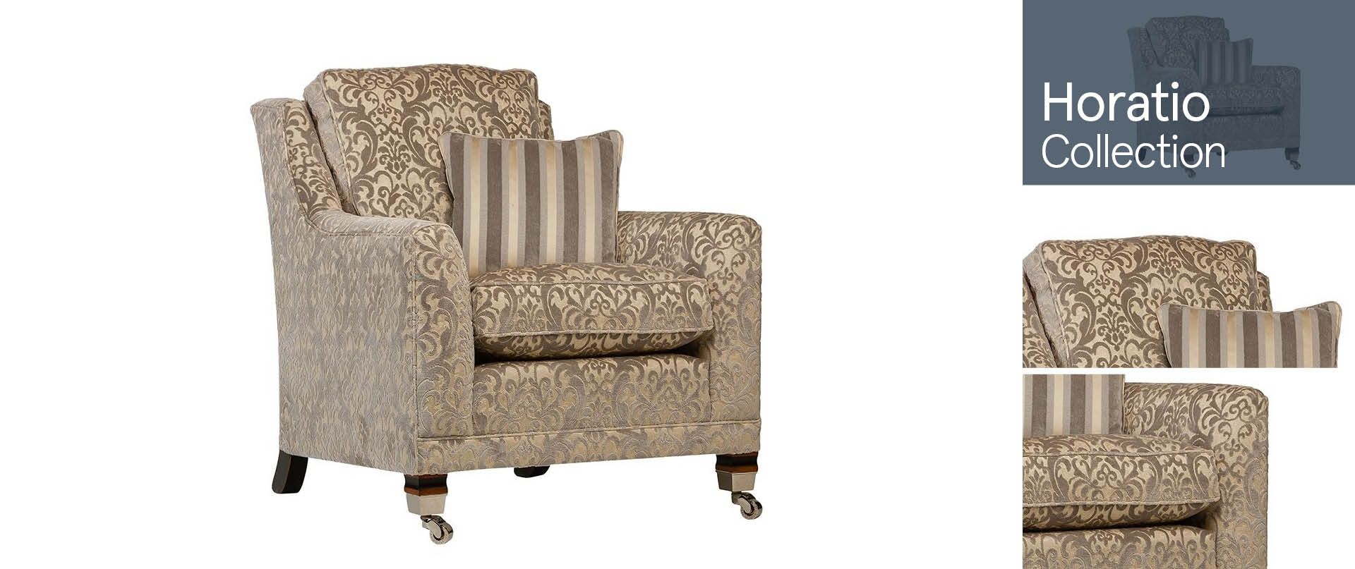 Horatio Chairs and Footstools Ranges