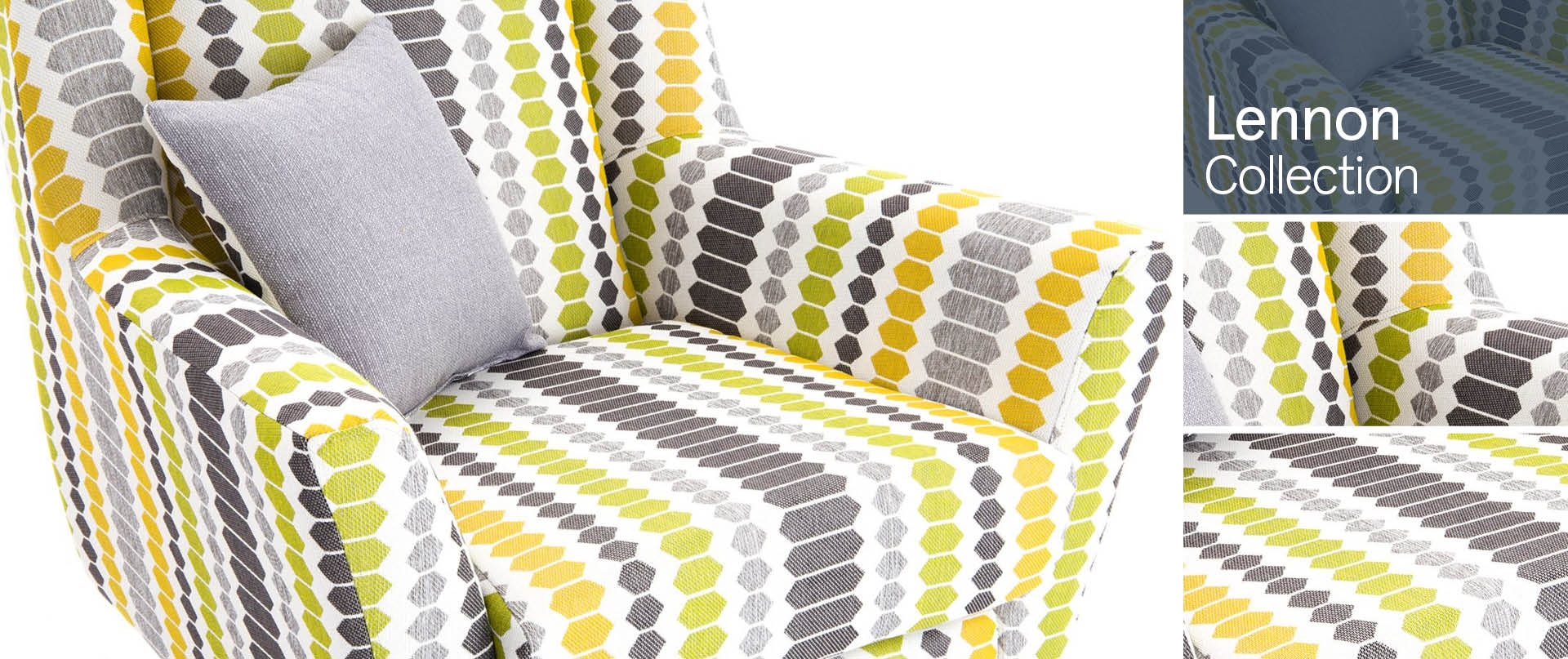 Lennon Chairs and Footstools Ranges