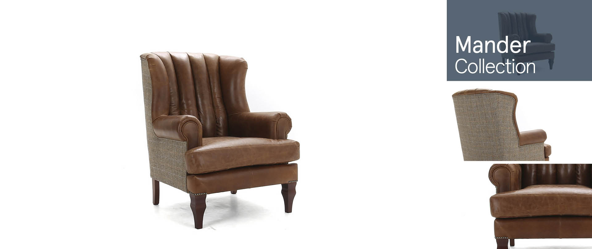 Mander Chairs and Footstools Ranges