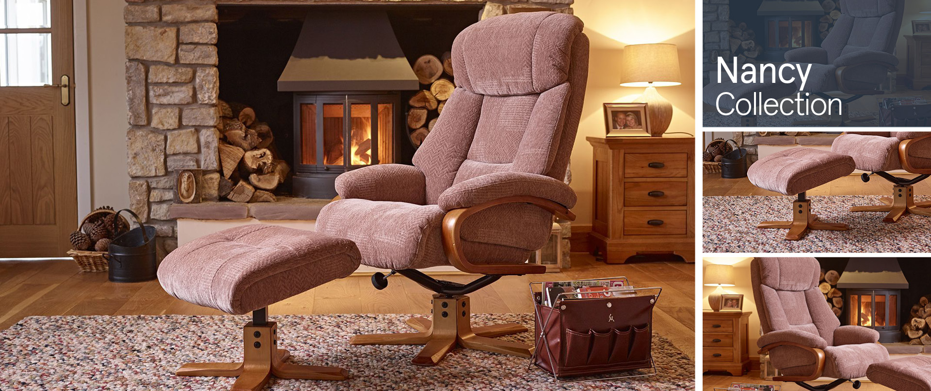 Nancy All Chairs and Footstools Ranges