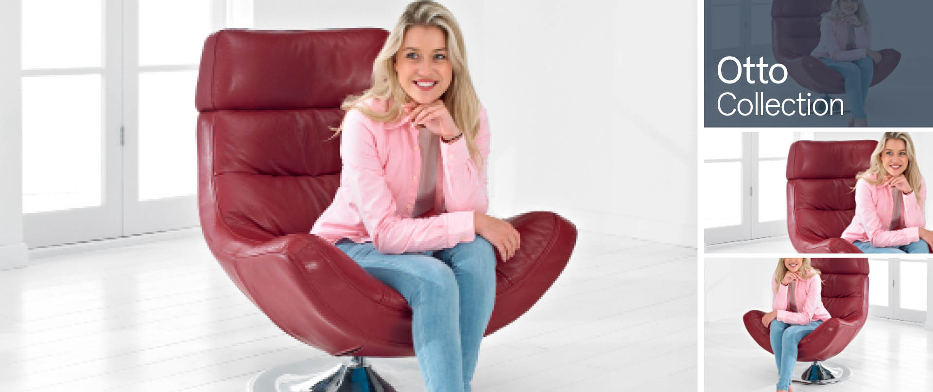 Otto Swivel Chairs and Footstools Ranges