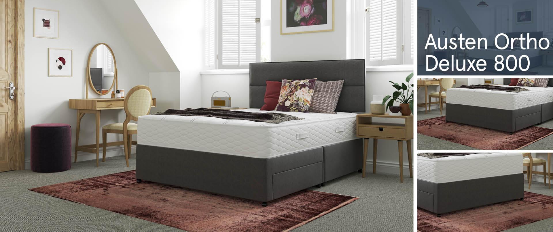 Austen Ortho Deluxe 800 Divan Beds Ranges