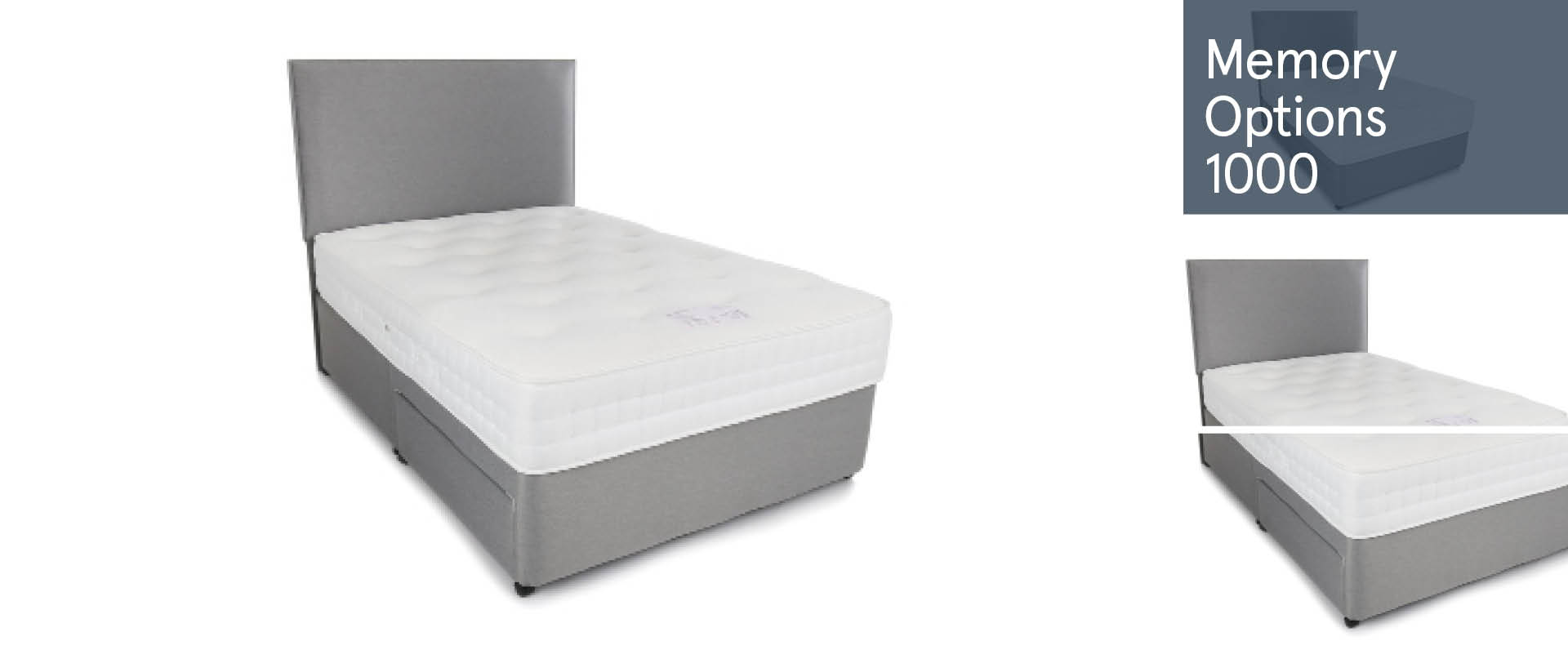 Memory-Options-1000 Divan Beds Ranges