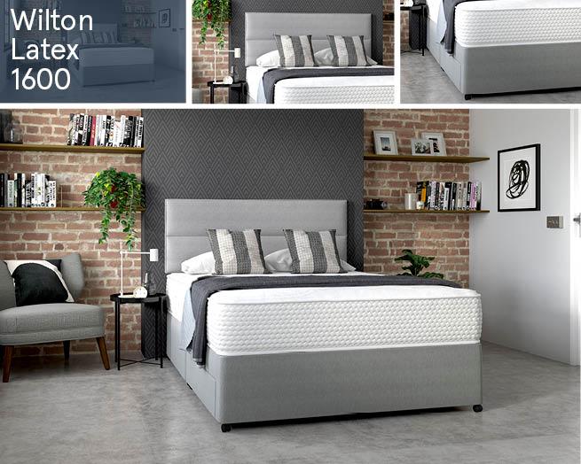 Wilton Latex 1600 Divan Beds Ranges