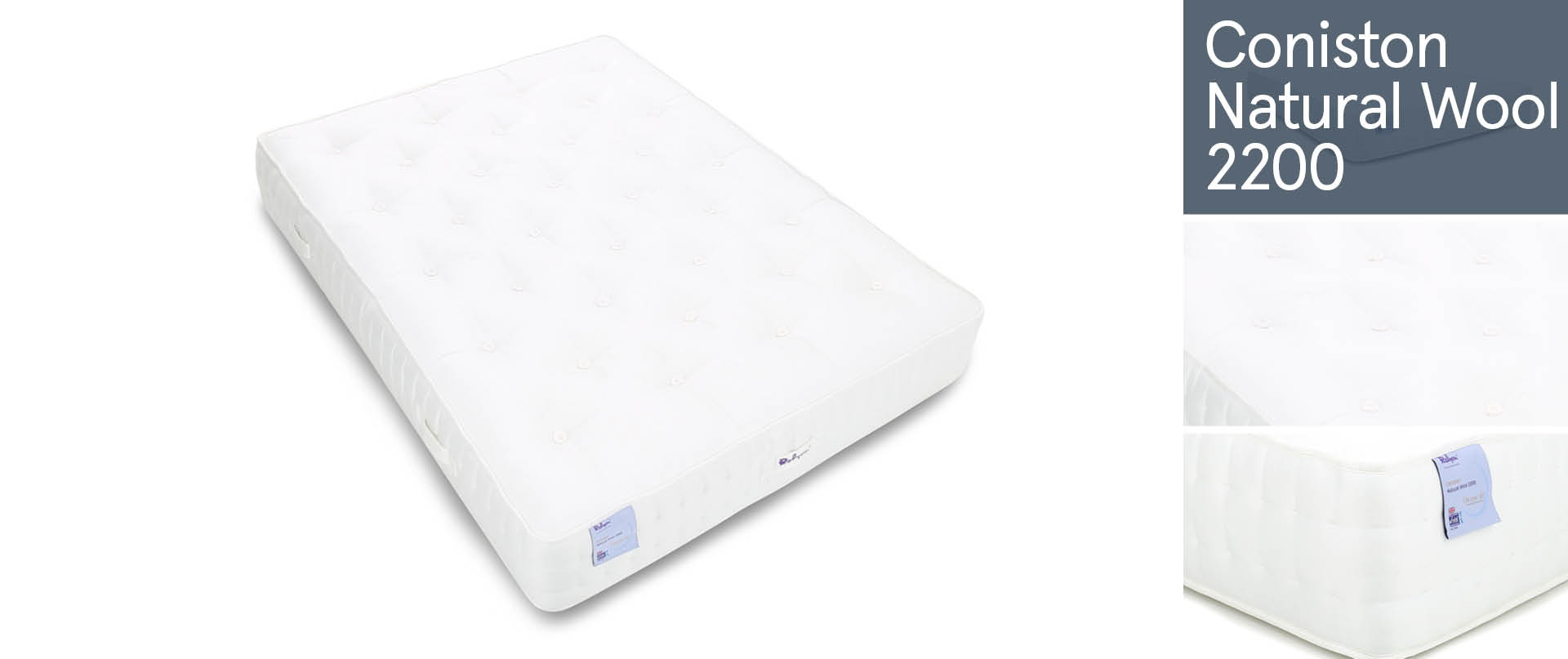 Coniston Natural Wool 2200 Mattresses Ranges