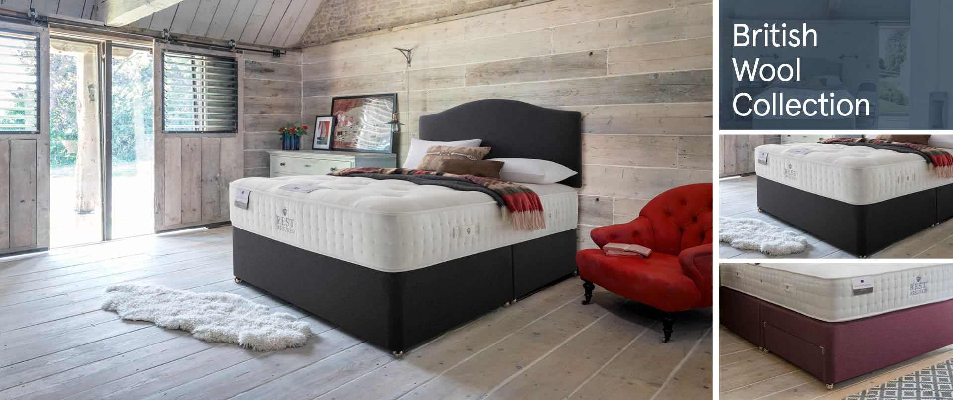 Ottoman/British-Wool-Collection Ottoman Beds Ranges