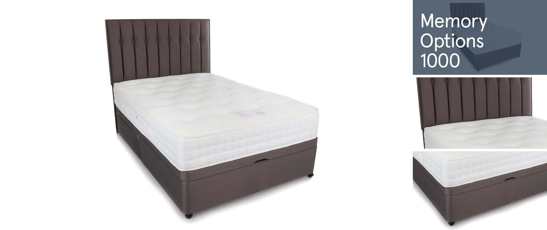 Memory-Options-1000 Ottoman Beds Ranges