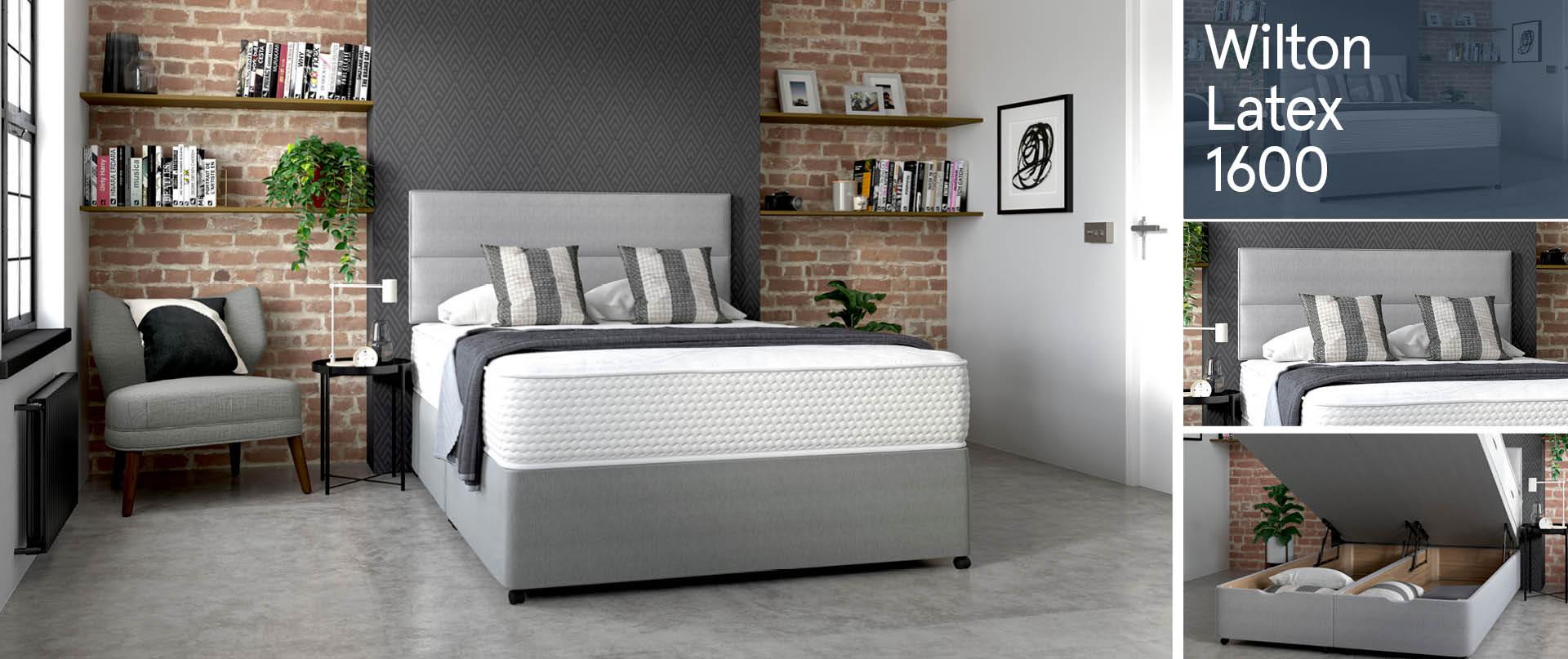 Wilton Latex 1600 Ottoman Beds Ranges