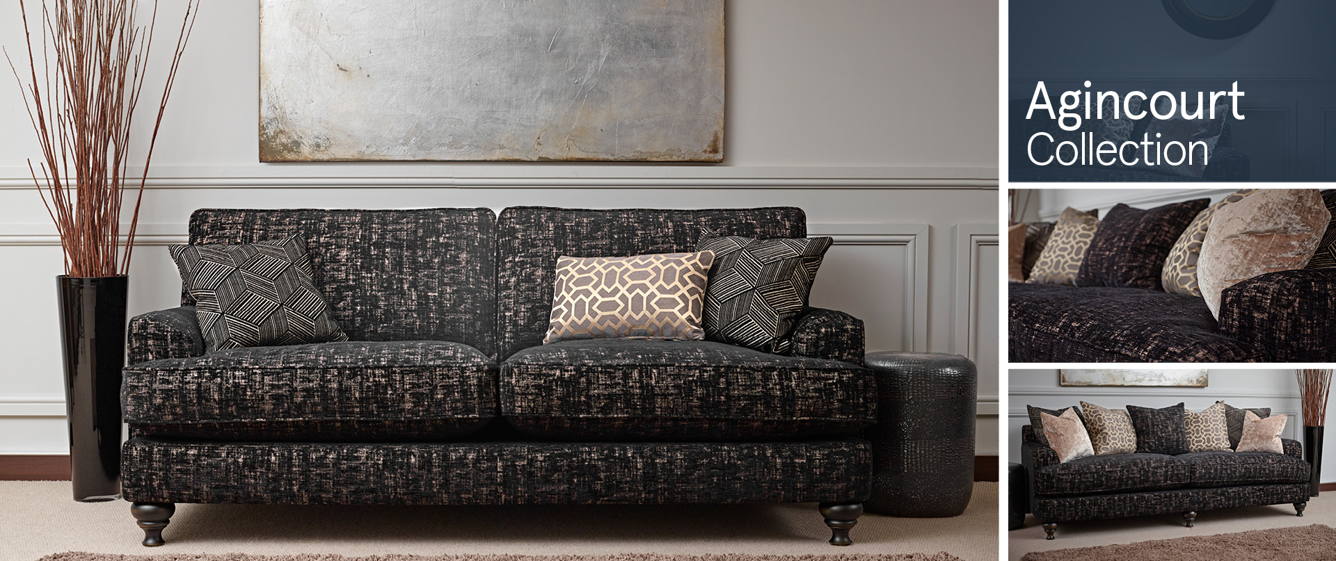 Agincourt Fabric Sofa Ranges