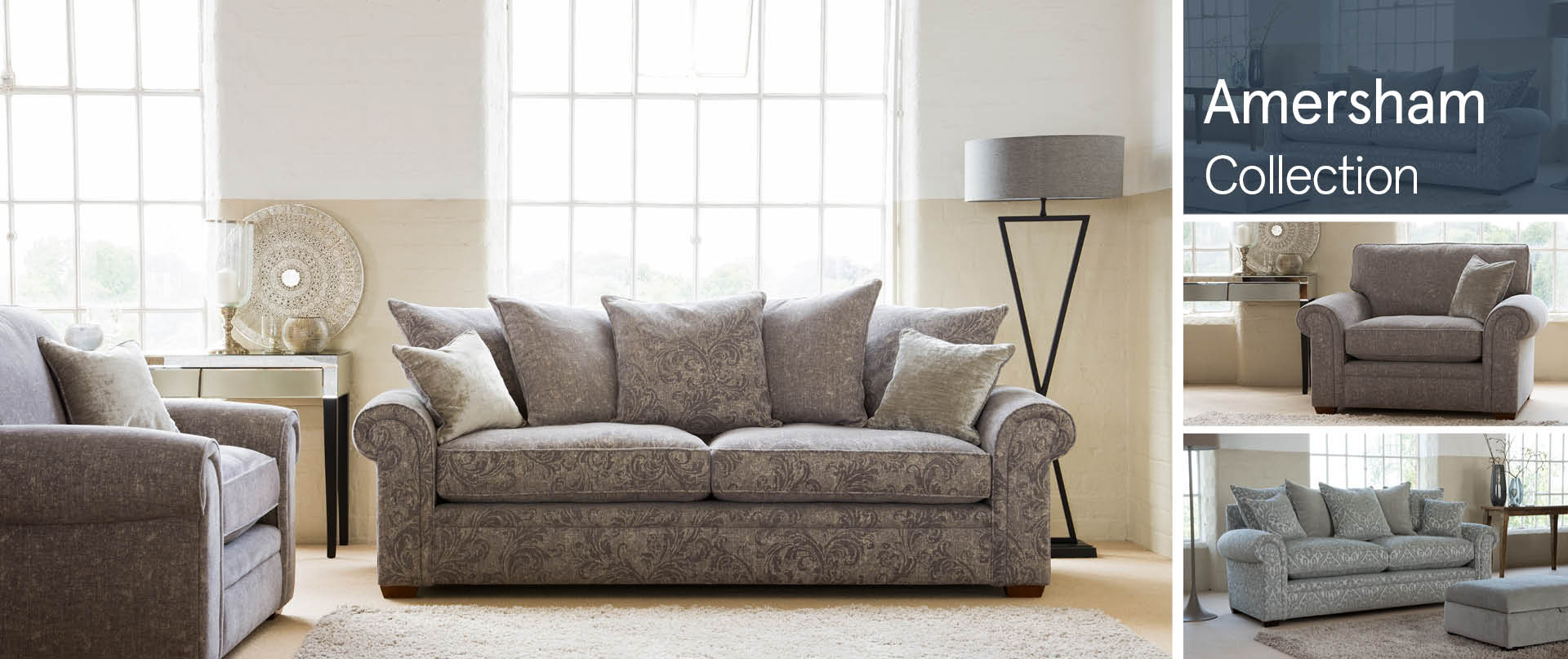 Amersham Fabric Sofas Ranges