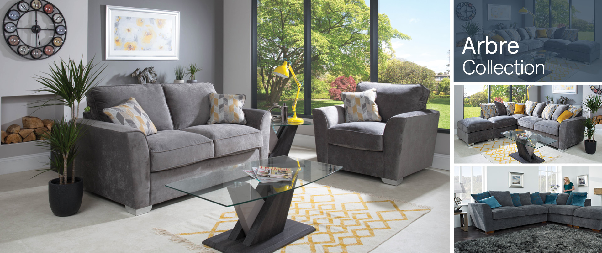 Arbre Fabric Sofa Ranges