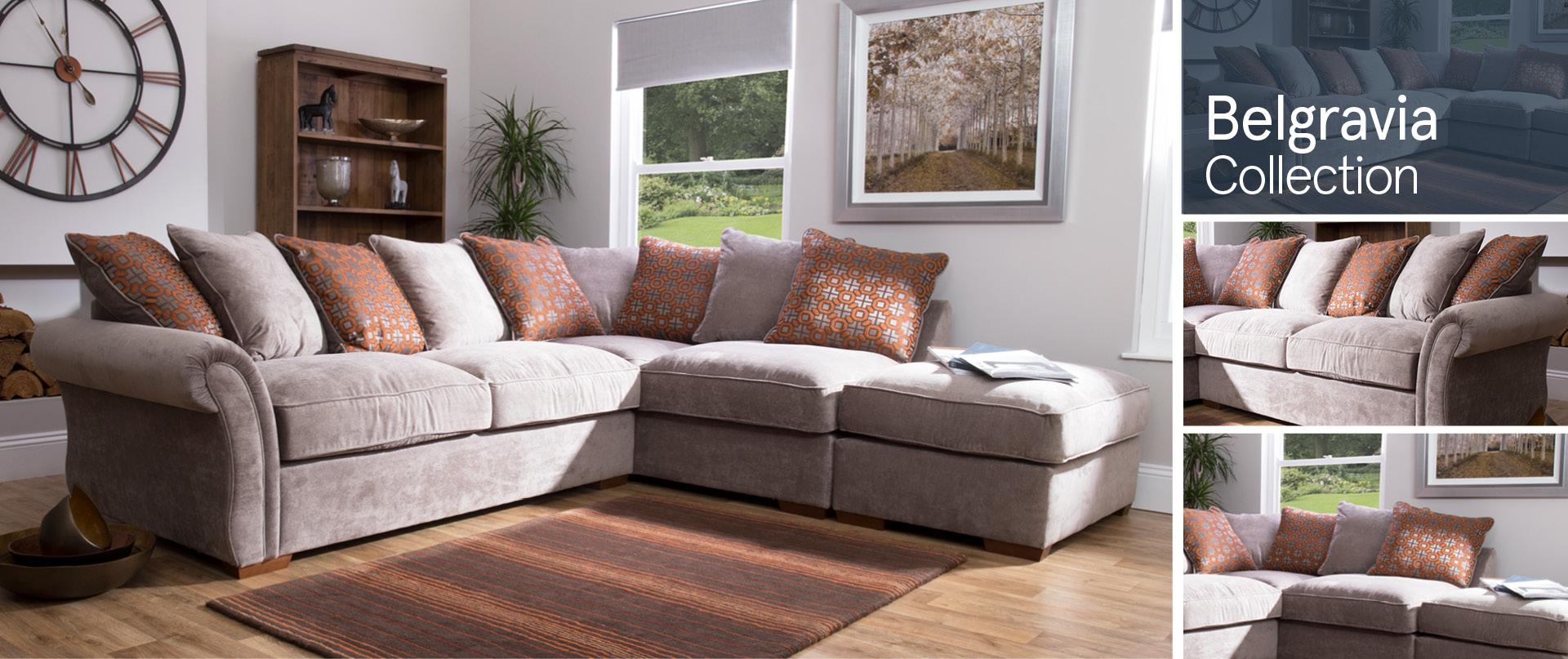 Belgravia Fabric Sofa Ranges
